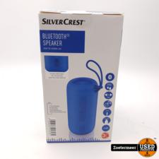 SilverCrest Speaker Blauw NIEUW
