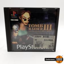 Tomb Raider 3 Aventures of Lara Croft PS1