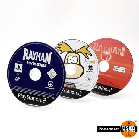 Rayman 10th Anniversary PS2