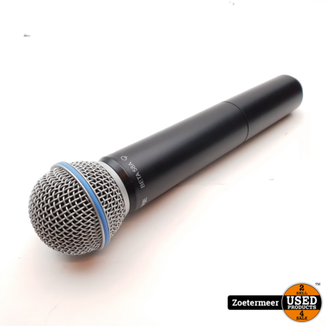 Shure BLX2-Beta 58 Draadloze handheld microfoon