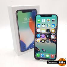 Apple Apple iPhone X 64GB Silver (NIEUWE ACCU + Z.G.A.N)