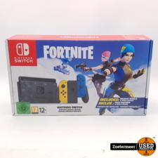 Nintendo Nintendo Switch Fortnite Editie Garantie tot 26-11-2022