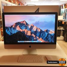 Apple Apple iMac 2017 ''27 inch 5K || i5 3.4GHz || 1TB || Compleet