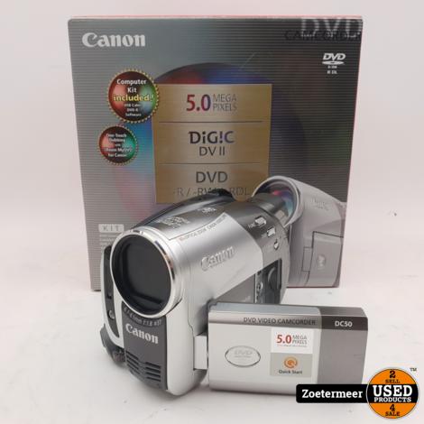 Canon DC50 8cm DVD Camera