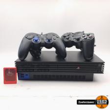 Sony PlayStation 2 Phat met Controllers