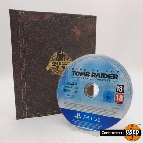 Lara Croft Tomb Raider 20 Years of an Icon Ps4
