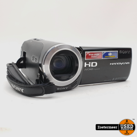 Sony HDR-CX250 Handycam Zwart