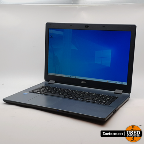 Acer Aspire E5-771 Laptop || 17,3 inch || Intel core i3 || 16GB RAM || 128GB SSD