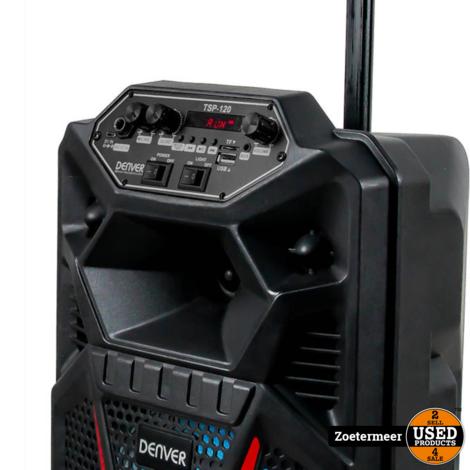 Denver TSP-120 Karaokesysteem NIEUW UIT DOOS