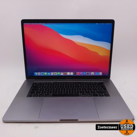 Apple Macbook Pro 16 inch 2019    512GB    16GB    i7 2.6Ghz    220 Laadcycli
