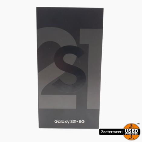 Samsung Galaxy S21+ 5G Black NIEUW IN SEAL + 2 JAAR GARANTIE