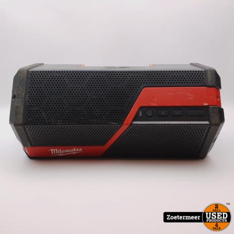 Milwaukee Speaker M12 18 JSSP-0 Li-Ion (incl. M18 2.0 MAh accu)