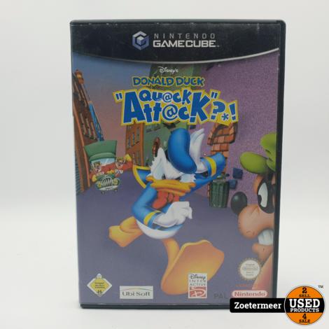 Donald Duck Quack attack Gamecube