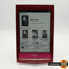 Sony Sony PRS-T1 e-reader Bordeaux Rood