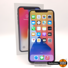 Apple Apple iPhone X 256GB Nieuwe Accu