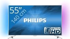 philips smart,4k,55 inch,internet      1100euro nieuw