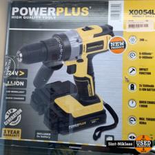 power plus x0054li nieuw 170 euro
