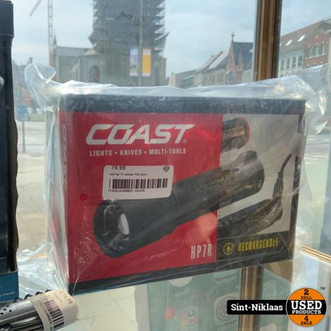 coast hp 7r nieuw 120 euro