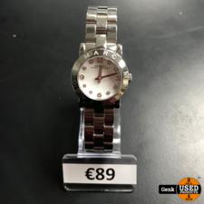 Horloge Marc Jacobs zilver