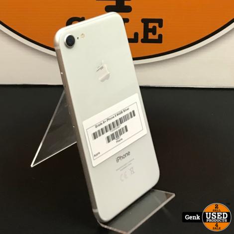Apple iPhone 8 64GB Zilver **Als nieuw**