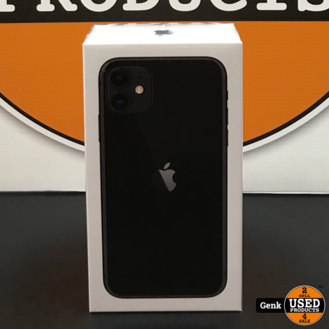 Apple iPhone 11 128GB Zwart **Nieuw in doos**