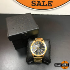 Diesel dz-4488 watch goudkleurig