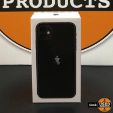 Apple iPhone 11 64GB Zwart **Nieuw in doos**