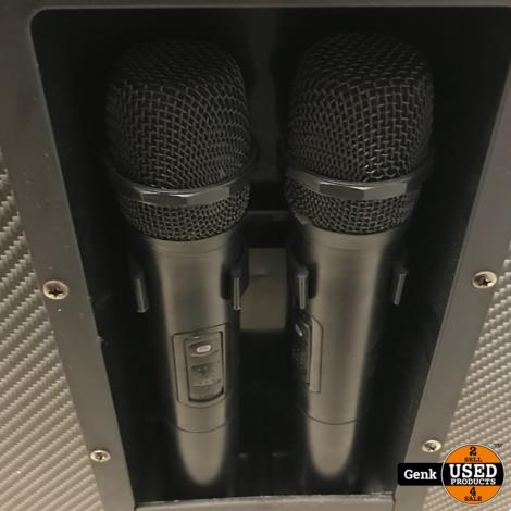 SLT Karaoke Entertainment set inclusief twee microfoons