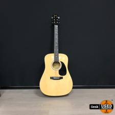 Fender Fender Squier SA-105 - Akoestische gitaar Naturel