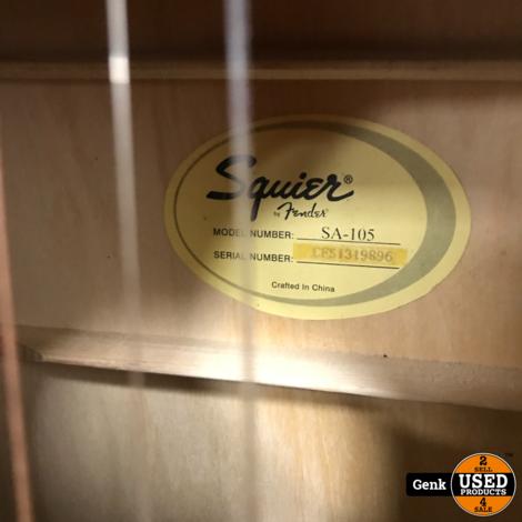 Fender Squier SA-105 - Akoestische gitaar Naturel