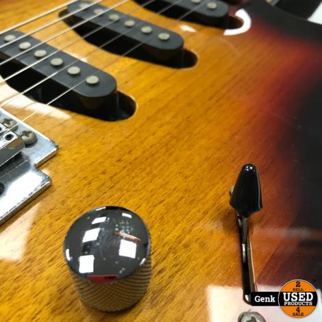 Oscar Schmidt By Washburn Elektrische Gitaar Stratocaster Type- Sunburst