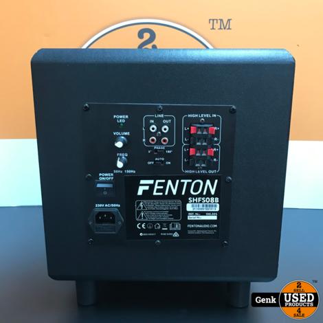 Fenton SHFS08B Subwoofer