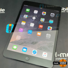 Apple iPad Mini - Wifi + Cell - 16GB Zwart