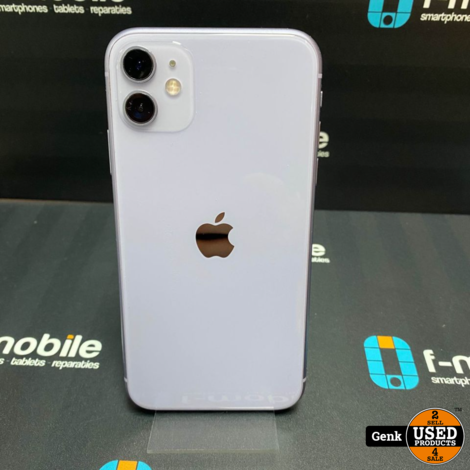 Apple iPhone 11 128GB Purple - Als nieuw