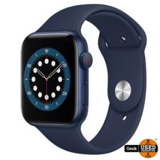 apple watch series 6 - 44 mm - Blauw