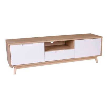 Norrut Cooper TV-meubel eiken/wit