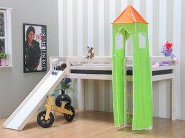 Flexa Toren groen voor Thuka halfhoogslaper