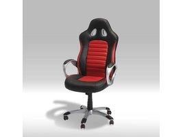 Still bureaustoel zwart en rood