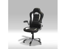 Still bureaustoel wit en zwart