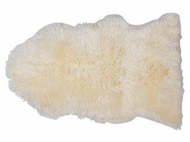 Maui lamsvel 70x100 cm wit uit Nieuw Zeeland