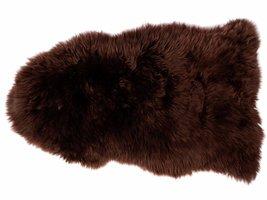 Maui lamsvel 70x100 cm bruin uit Nieuw Zeeland