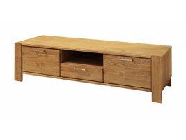 Riva TV meubel met 2 deuren en 1 lade in olie gefineerd eiken
