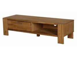 Riva TV meubel met 1 lade en 1 plank in olie gefineerd eiken