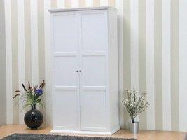 Tvilum Nice kledingkast met 2 deuren in wit