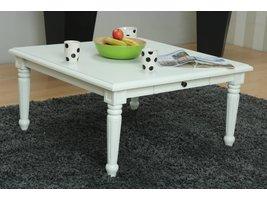 Vierkante salontafel wit Mozart