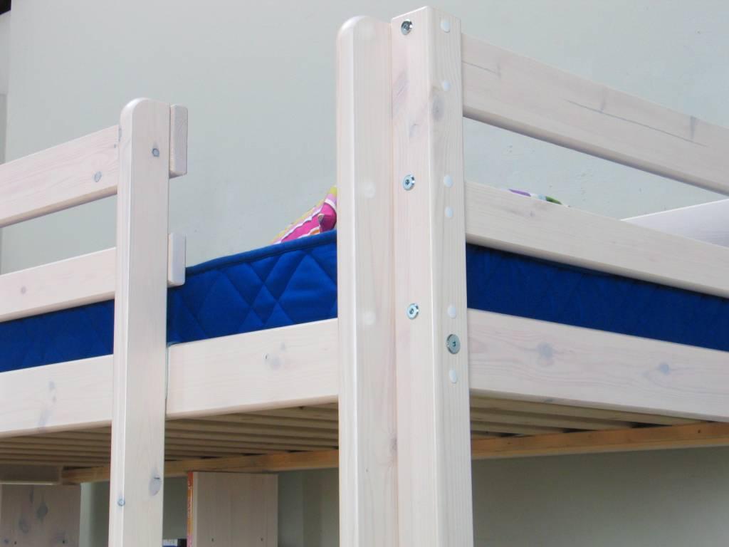 Thuka hoogslaper wit met bureau bank en kussenset blauw thuka