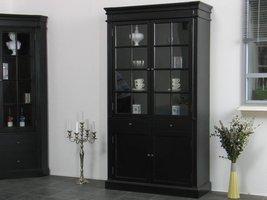 Servieskast Mozart zwart dressoir met opzet