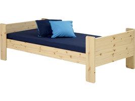 Molly Kids bed 90x200 cm, helder gelakt.