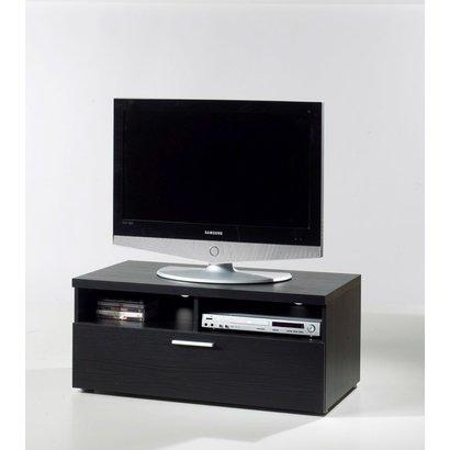Samsung Tv Met Meubel.Nadja Tv Meubel 1 Lade En 2 Ruimtes Zwart Gratis Bezorging
