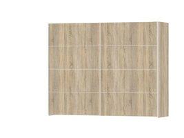 Veto kledingkast 2-deurs B 242 cm, eiken decor.